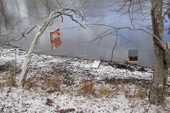 <b>don't leave </b><br>    found suitcases, suitcase pieces, windows sash chains, wire<br> I-Park Foundation, East Haddam, CT 2016