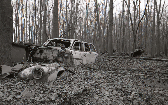 <b>crash</b> <br> 2008 <br> 11/14 in. <br> silver gelatin print