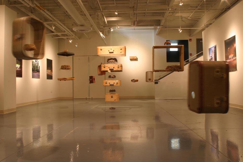 <b>dwellings-what remains</b><br> Visual Arts Gallery, New Jersey City University, NJ 2011